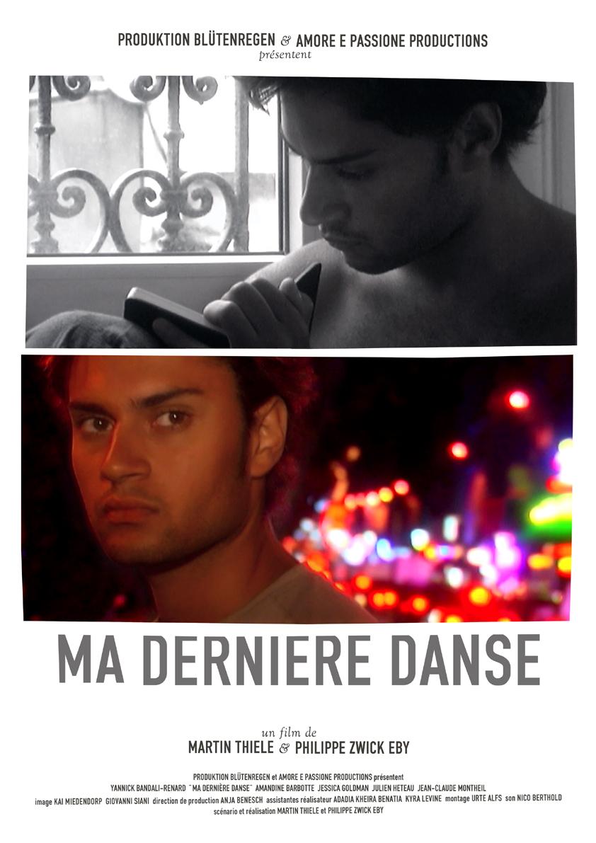 Ma derniere danse - Plakat A3 - RGB 72 dpi